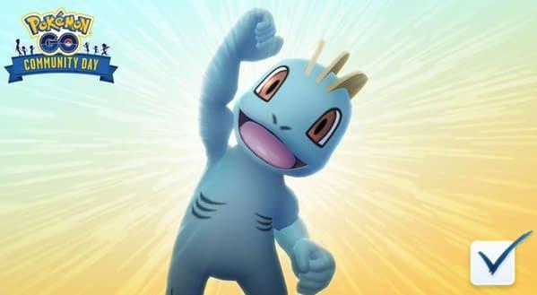 Machop dans Pokémon GO.  Crédits: Niantic