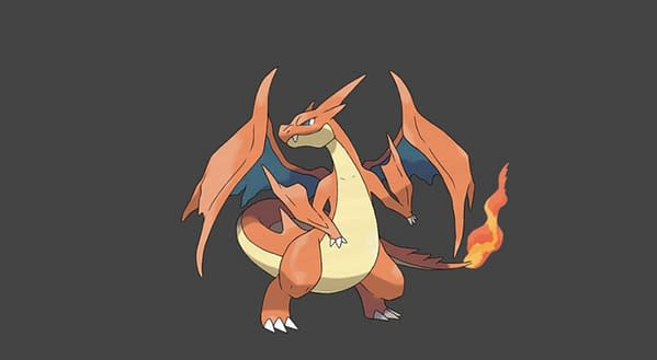 Charizard Y official artwork. Credit: The Pokémon Company