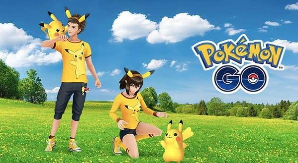 Pikachu in Pokémon GO. Credit: Niantic