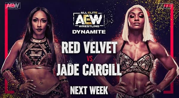 Red Velvet will face Jade Cargill in a one-on-one match on next week's episode of AEW Dynamite.