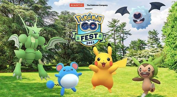 Pokémon GO Fest 2021 teaser image. Credit: Niantic