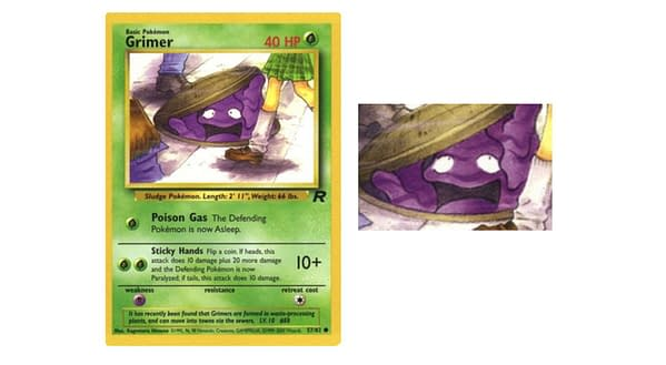 Grimer from Team Rocket expansion. Credit: Pokémon TCG