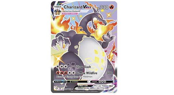 Shiny Charizard VMAX from Shining Fates. Credit: Pokémon TCG