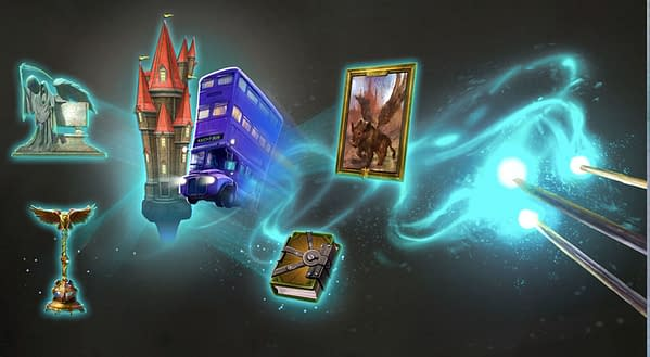 Harry Potter: Wizards Unite April 2021 Community Day graphic. Credit: Niantic