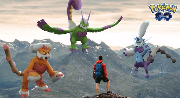 Therians in Pokémon GO. Credit: Niantic