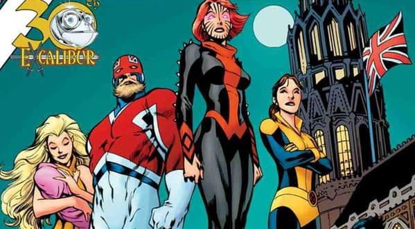 X-Men Gold Annual #1 cover by Alan Davis, Mark Farmer, and Chris Sotomayor