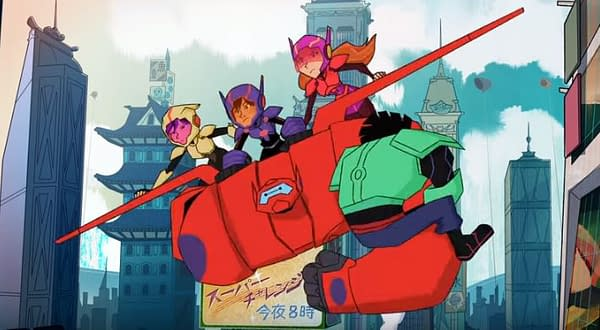 Hiro, Baymax, and the Team Fight for San Fransokyo in 'Big Hero 6 The Series' Trailer