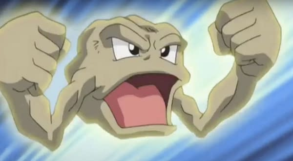 Geodude Spotlight Hour is tonight but will the Alolan spawn too? Credit: Pokémon the Series