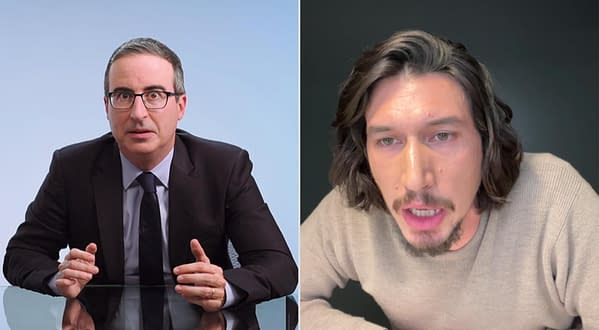 Last Week Tonight: Adam Driver Finally Confronts