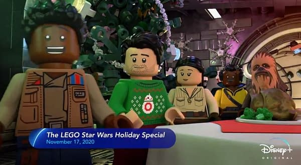 LEGO Star Wars Holiday Special: Disney+ Promos Preview Animated Event