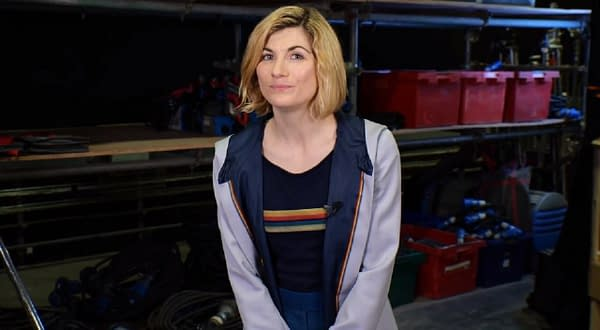 Doctor Who star Jodie Whittaker offers a message for 2021. (Image: BBC screencap)