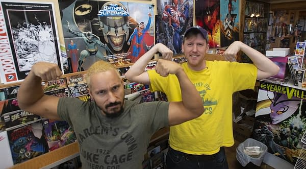 The Wrestler Looking to Save a Comic Store in Tacoma, Washington From Closing