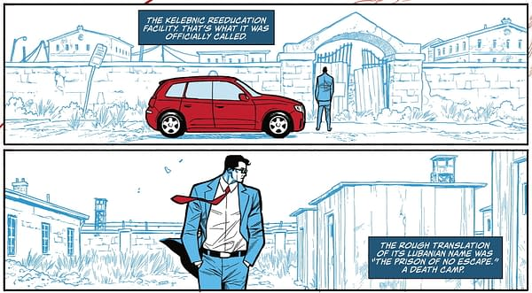John Ridley Brings Back a 1970 Superman Comic For Red, White And Blue