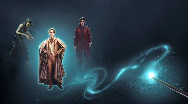 Adversaries graphic in Harry Potter: Wizards Unite. Credit: Niantic