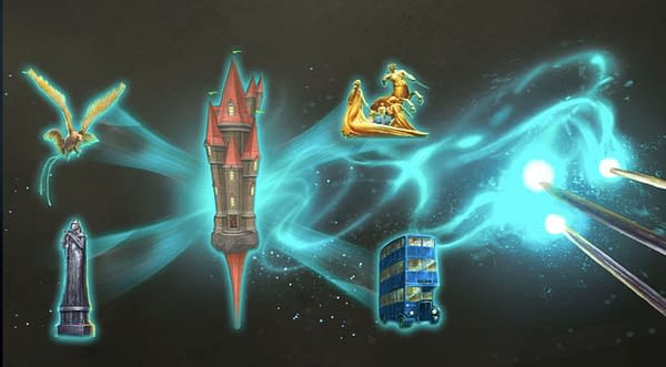 Community Day graphic in Harry Potter: Wizards Unite. Credit: Niantic