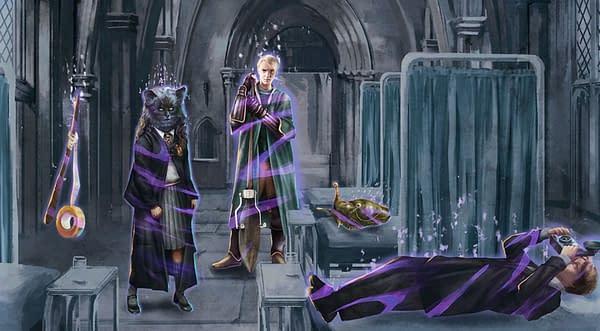 Brilliant Registry in Harry Potter: Wizards Unite. Credit: Niantic