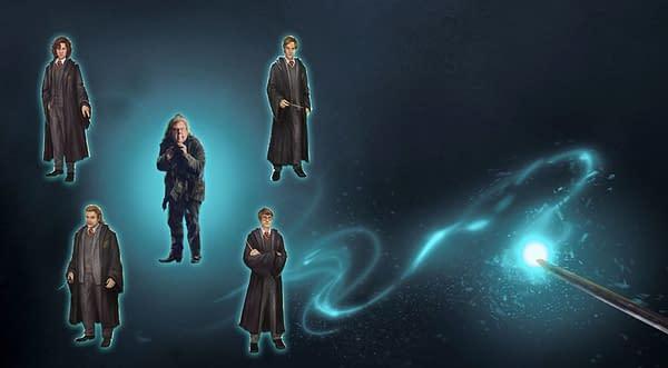 Marauders Adversaries Event graphic in Harry Potter: Wizards Unite. Credit: Niantic