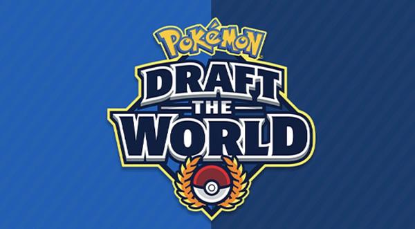 Draft the World Tournament graphic. Credit: Pokémon TCG.