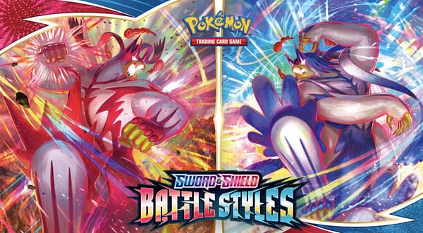 Battle Styles graphic. Credit: Pokémon TCG