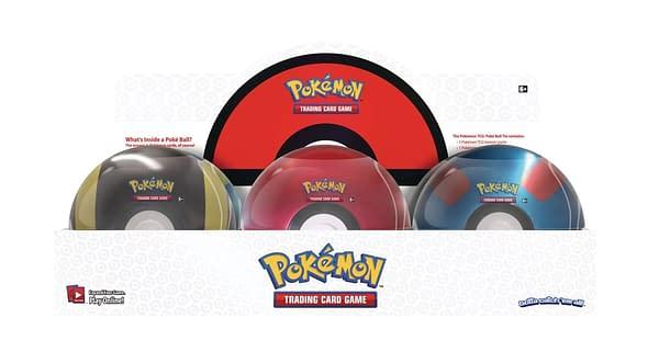 Poké Ball tins. Credit: Pokémon TCG