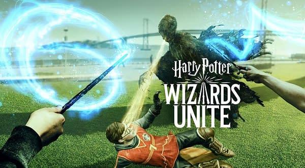 Harry Potter: Wizards Unite promo image. Credit: Niantic