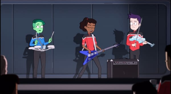 Star Trek: Lower Decks – Temporal Edict: Morale is Progress [Review]