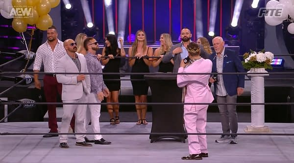 That's right, MJF, it's time to par-tay because NXT lost fewer viewers than AEW Dynamite did this week.