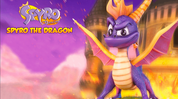 This Expensive Spyro Statue Is Awesome But Not Worth The Pricetag