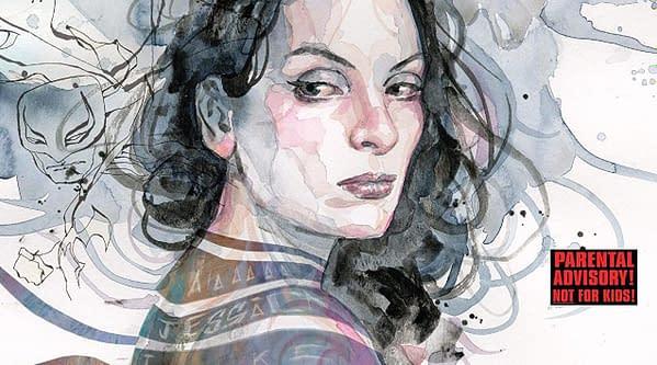 Jessica Jones #18 cover by David Mack
