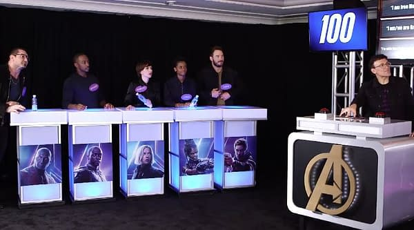 The Avengers Played 'Avengers: Infinity War' Family Feud Today