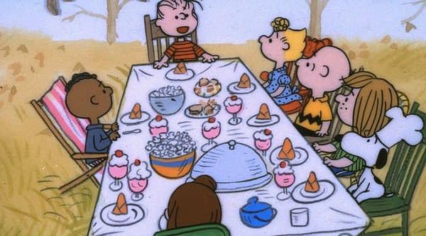 charlie brown thanksgiving franklin