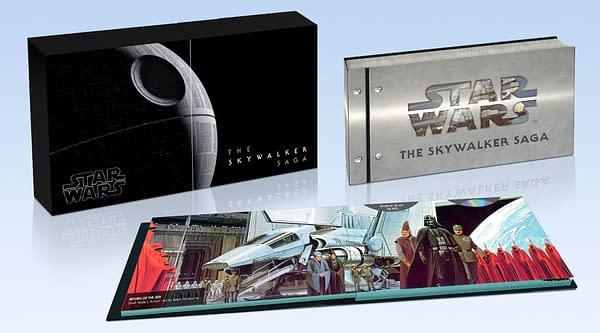 Star Wars Skywalker Saga 9 Film Collection Coming Soon on 4K