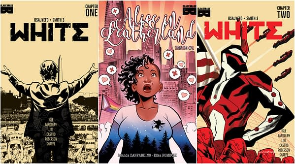 PrintWatch: Third Printings For Alice In Leatherland #1 and White #1