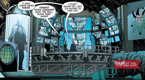 Jason Fabok is Drawing Pages for Geoff Johns's Three Jokers Right Now