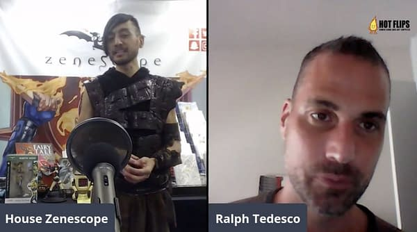 Zenescope announce movie night & Clerks roundtable with cast. Credit: Zenescope's Facebook Livestream