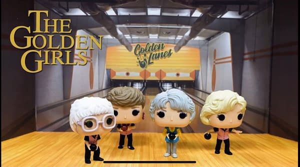 The Golden Girls Enter the Bowling Tournament with Funko