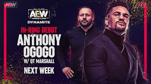 Anthony Marshall, a member of QT Marshall's Nightmare Family Wolfpac, will make his in-ring debut on AEW Dynamite next week.