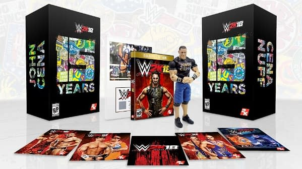 Sigh… John Cena Will Take The 'WWE 2K18' Special Edition