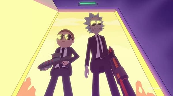 Rick and Morty Go 'Pulp Fiction' in New Run the Jewels/Adult Swim Video