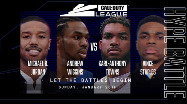 "Michael B. Jordan Joins The ""Call Of Duty"" League Hype Battle"