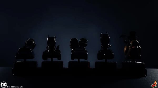 Hot Toys Teases New Line Of Collectible DC Characters with Cars