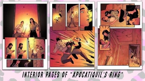 Stephen Mooney's Bettie Page: Tomb Raider Comic With Greg Hildebrandt