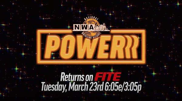 The NWA returns in March.