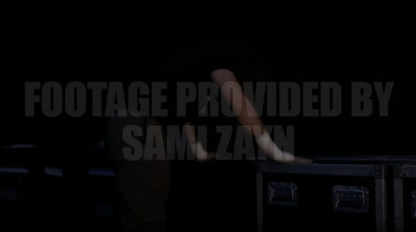 Sami Zayn throws a tantrum after losing an Intercontinental Championship match on WWE Smackdown
