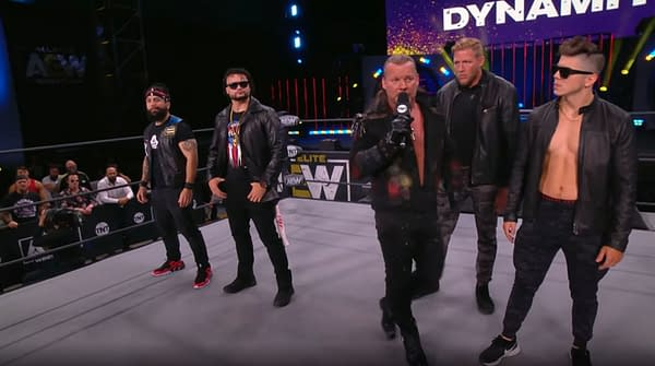 Chris Jericho tempts fate by announcing another Blood and Guts match on AEW Dynamite.