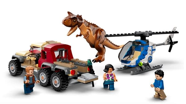 Worlds Collide With New Camp Cretaceous x Jurassic World LEGO Sets