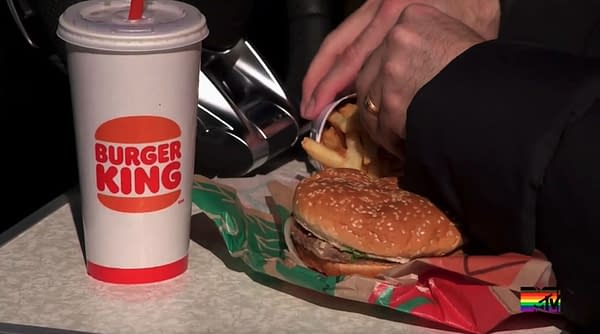 Who's eating the Burger King this week, and will it mean the end of their relationship?!