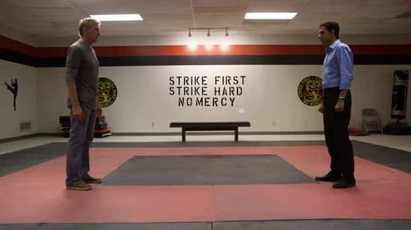 cobra kai footage nyc prank endorsement