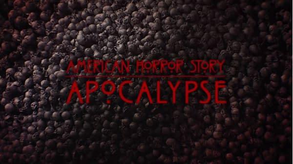 American Horror Story Apocalypse: Welcome Back, Taissa Farmiga, Gabourey Sidibe, Lily Rabe, Frances Conroy, and Stevie Nicks!