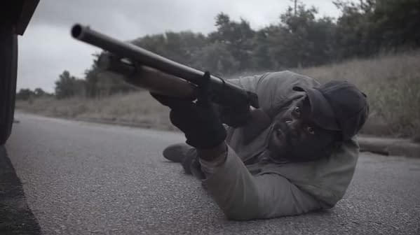 """Fear the Walking Dead 'MM 54' Preview: Filthy Lady Gets a Backstory While """"Jimbo's"""" Ready to Walk"""